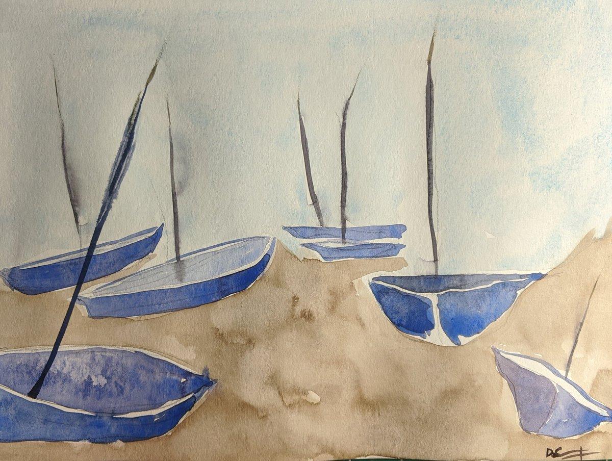 Low tide. #watercolour pic.twitter.com/23b9eZlurN