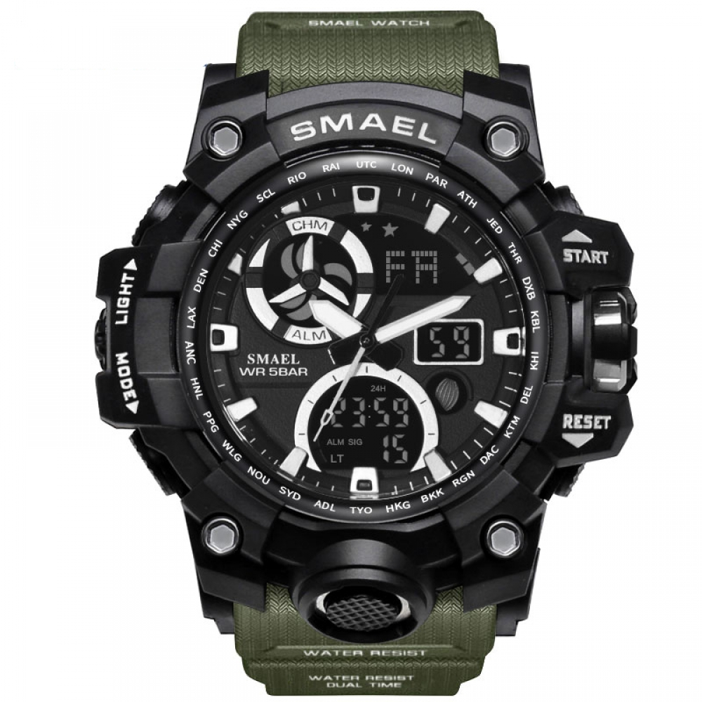 #menstyle Army Watches Brand Digital Backlight Watch Men Military LED Wristwatches Waterproofpic.twitter.com/frYGW0L2CJ