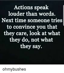 Look at the person action more than what they say it reveals their true intentions #WednesdayThoughts <br>http://pic.twitter.com/GPXEQMwr9M