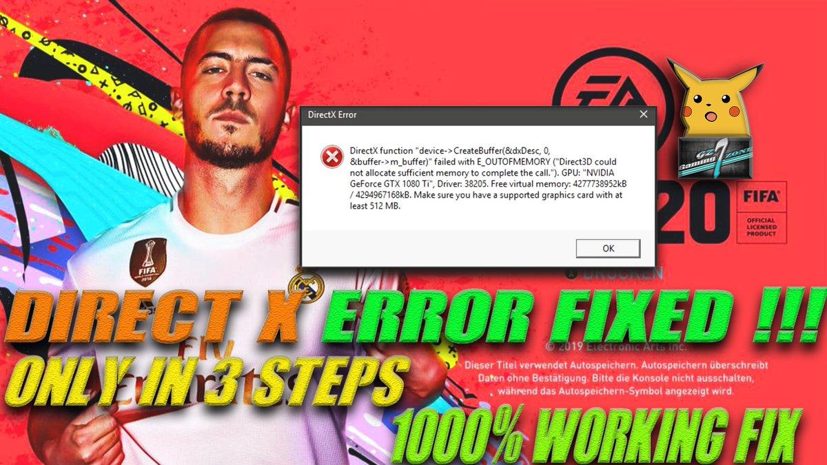 New Video ! Check it out here  https://youtu.be/5G9G22dWvfE  #FIFA20 #EASports #ElectronicArts #FIFA19 #FIFA_20CrashFix #FIFA_20Fix #FIFA_20PerformanceFix #FIFA20GraphicsFix #FIFA #FIFA19ErrorFix  #GamingZoneGZ7pic.twitter.com/oYQkaFjPxY