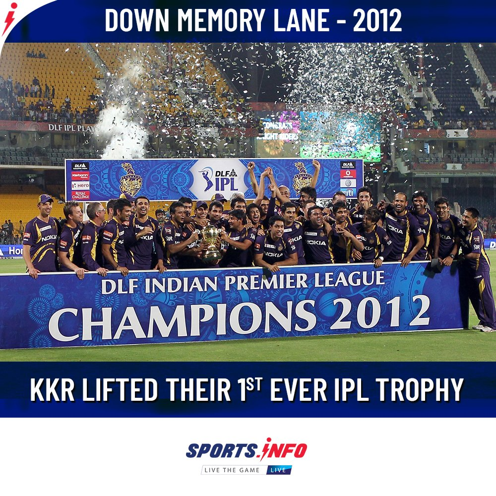 #OnThisDay: Kolkata Knight Riders defeated #ChennaiSuperKings by  wickets in the final.  . . . #DownMemoryLane #KKRvCSK #KorboLorboJeetbo #IPL #Cricket #SportsDotInfo #throwback #WednesdayMotivation<br>http://pic.twitter.com/Ga1KUHMCxO