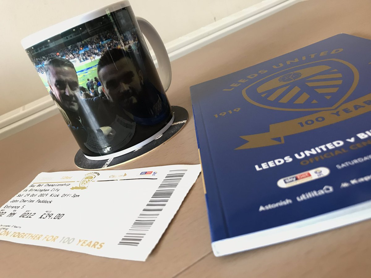 Big thanks yet again @theterracelife for the mug to add to the memories of a great day out at the match with the old man. I just may get another as a Father's Day gift now! Mask is great too, really comfotable.