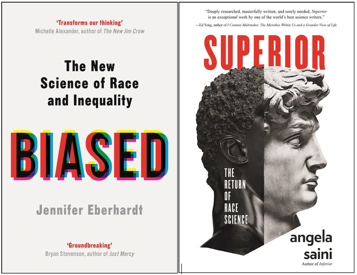 """#RT @anwaribrahim: Understanding – and overcoming – racism (book review)   I finished reading two important books on race and identity: Angela Saini's """"Superior: The Return of Race Science"""" and Jennifer Eberhardt's """"Bias: The New Science of Race and Ineq…pic.twitter.com/va6jk1AJOw"""