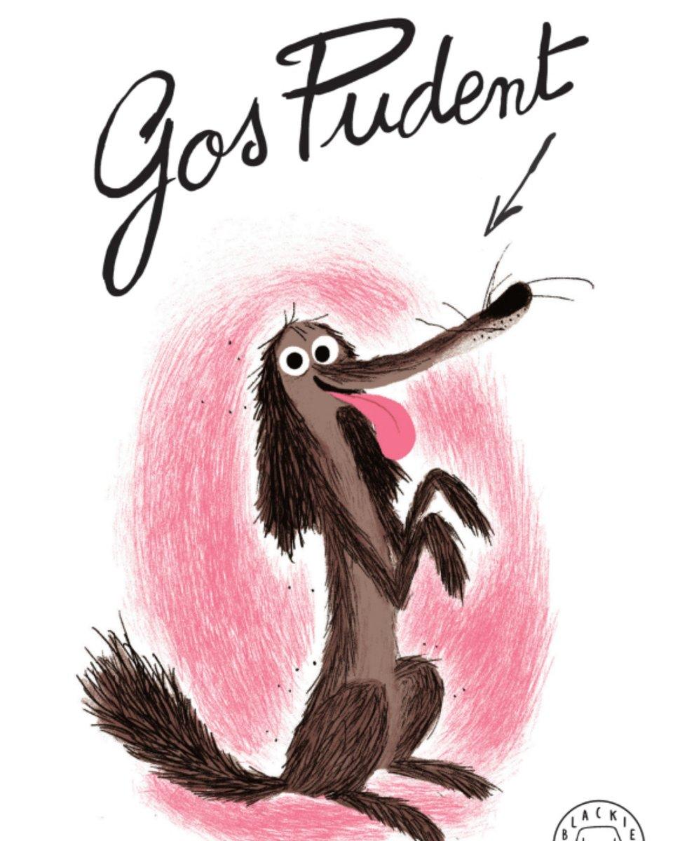 """Image for the Tweet beginning: #jollegeixo📖 """"Gos Pudent"""" de Colas"""