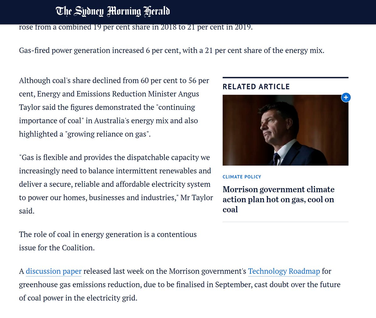 Did you know that the best way to debunk something is to look at the thing that is being linked to? My friends....it's time for a quick , explaining why the report the two gas lobbyists below are linking to nicely disproves exactly what they're saying.....