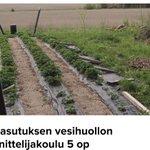 Image for the Tweet beginning: Haja-asutuksen vesihuollon suunnittelijakoulu valmistaa FISEn