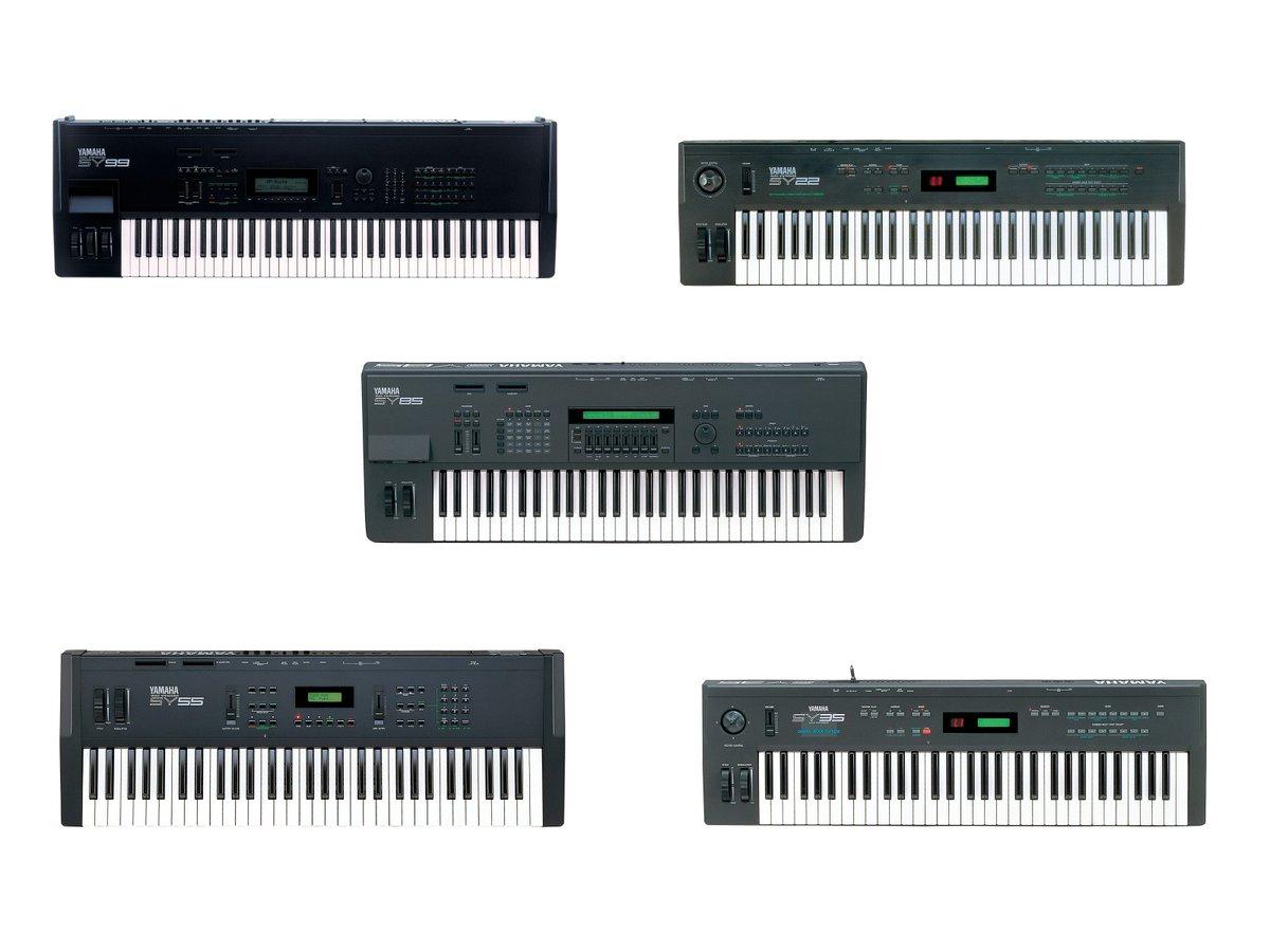 #ヤマハシンセ の歴史(SYシリーズ、TGシリーズ)僅か10年ほどの間にFM音源、サンプリング音源の激動を得て90年代に突入です。89年のSY77登場からシリーズのリリースが続き、FM+PCM系の音源モジュールのTGシリーズも発売されました。この頃からPCM系音源はシンセの主流になりつつありました(続く