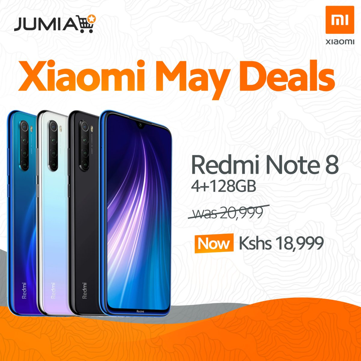 Our May deals are LIVE!   How about this #RedmiNote8 ?  Save 2k now!  Click here now; https://www.jumia.co.ke/xiaomi-phones_1/…pic.twitter.com/hB9MgE59NV