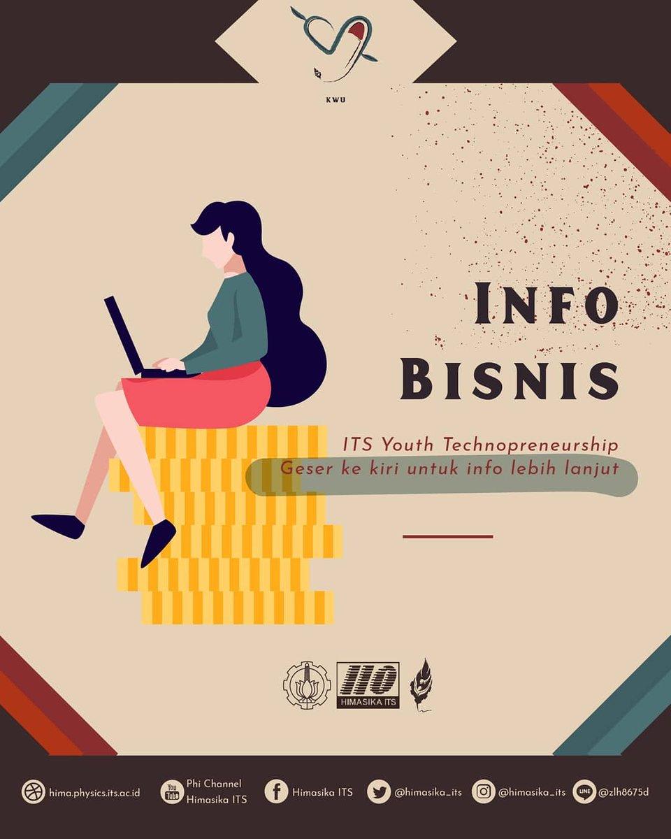 [INFO BISNIS]  Daftar kan tim and di : http://intip.in/PendaftarIYT2020…  dan download guidebook di : http://intip.in/guidebookIYT2020…  CP :  Line (1) : fiqihaissyyah. Line (2) : athardien WA (1) : 085808326171 WA (2) : 082128787255  #INFOBISNIS #KWU #BARAASA #HIMASIKAITS #ITSSURABAYApic.twitter.com/88ZB5PaNsG
