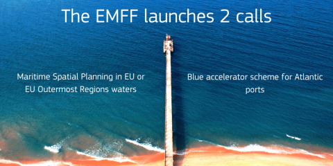 #BREAKING! 2 #EMFF calls have just been launched, towards a blue #EUGreenDeal.    Developing a blue accelerator scheme for #Atlantic #ports  Supporting Maritime Spatial Planning #MSP   https://europa.eu/!cx98Tr  #BlueEconomy #Biodiversity #maritimepic.twitter.com/UhrhQ4T13o