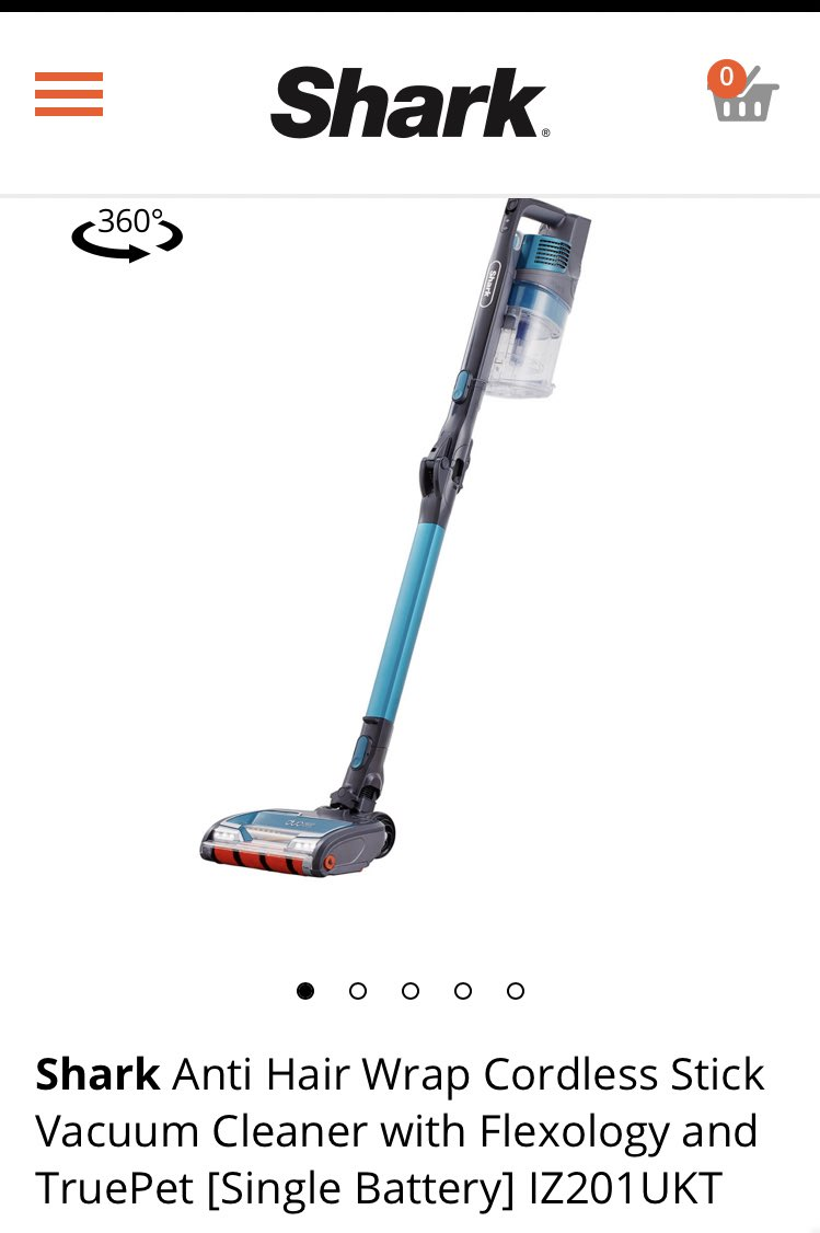 Stress means comfort buying ... where I'd normally buy trainers I bought a vacuum #howtimeschange