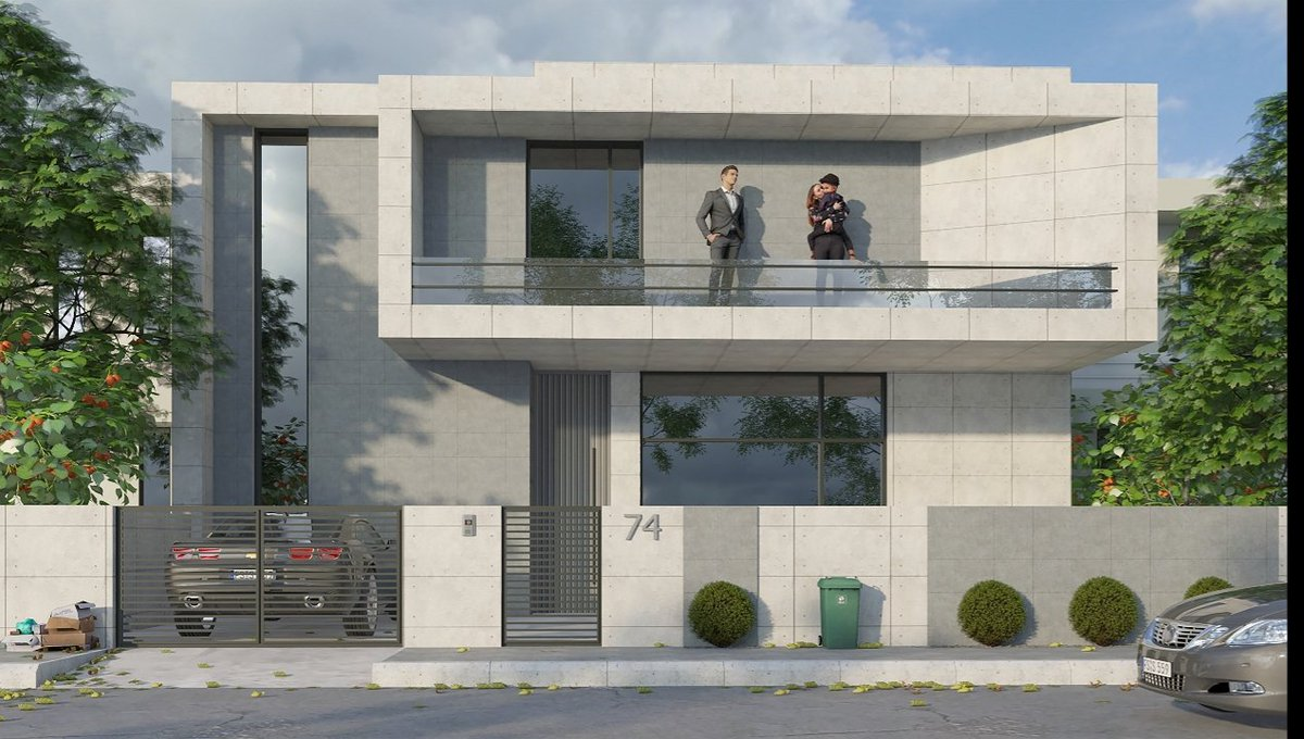 House design  Software : 3ds max , vray  #architecture #design pic.twitter.com/ZgXkNLuCTO