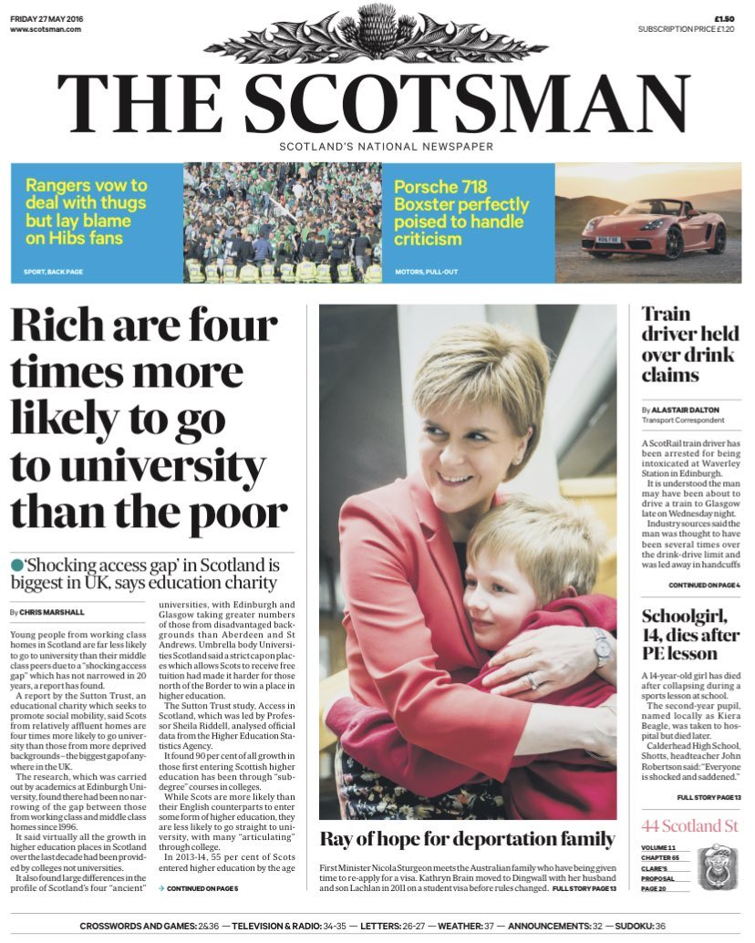 Scotland's education system is arguably now worse and less equitable than England's