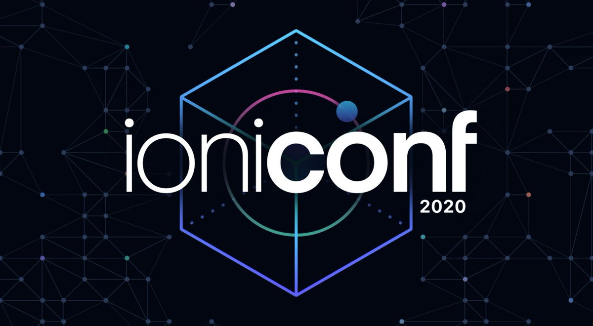 I'm presenting at @ionicframework's first conference, #Ioniconf2020! Join us and register below!  https:// ion.link/ioniconf     #javascript #webdevelopment #mobiledevelopment #reactjs #angular #VueJS<br>http://pic.twitter.com/nlcar6DK56