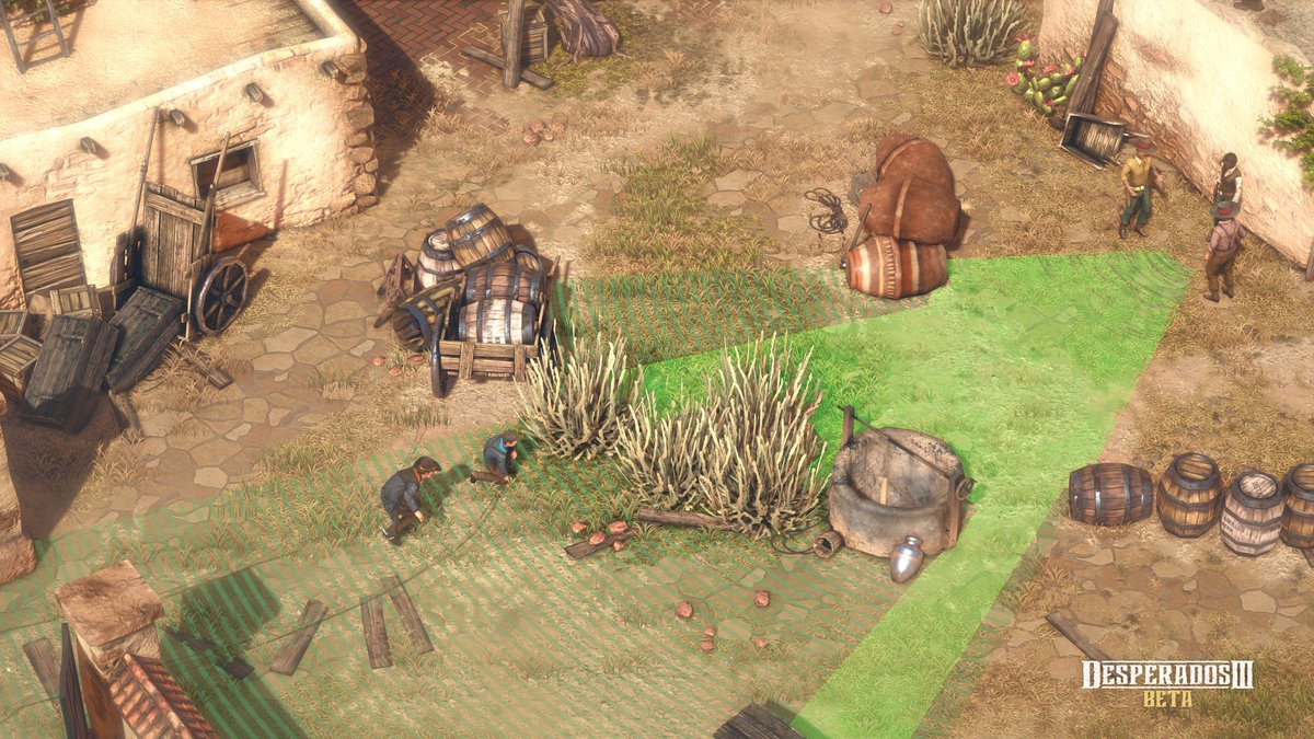 Pixelprospector On Twitter Desperados Iii Will Be Released In 3 Weeks June 16th On Pc Xb1 Ps4 A Free Demo Of The Tactical Stealth Game Was Just Released Today On Gog Https T Co Lhxduki1fd Gameplay