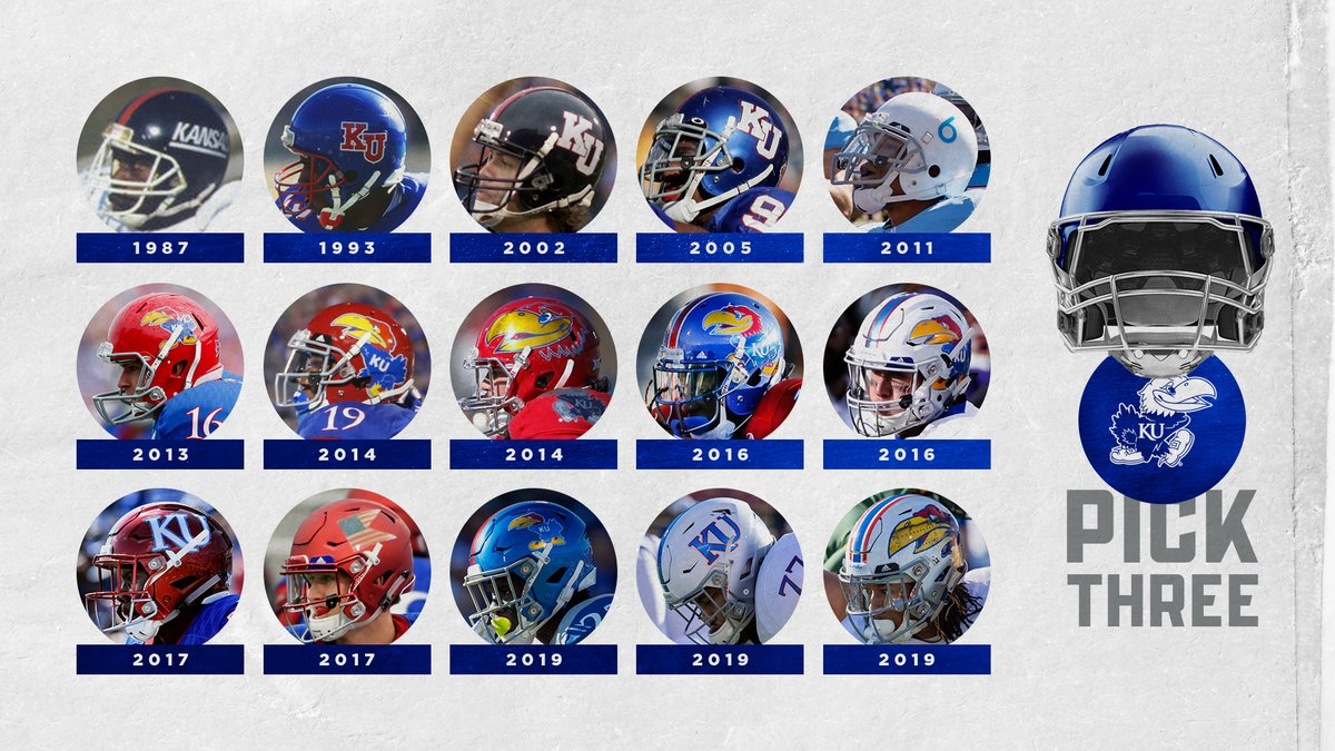 You can only choose 3⃣ Which #KUfball helmets are you choosing? 🤔