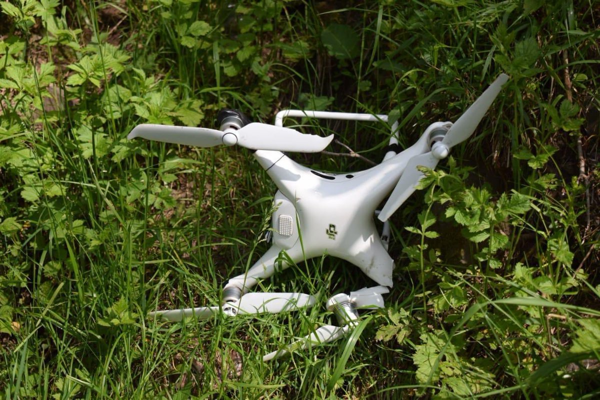 #PakistanArmy troops shot down an Indian spying #quadcopter in Rakhchikri Sector along LOC.  The quadcopter had intruded 650 meters on Pakistan's side of the #LOC.<br>http://pic.twitter.com/ZARleWqaat