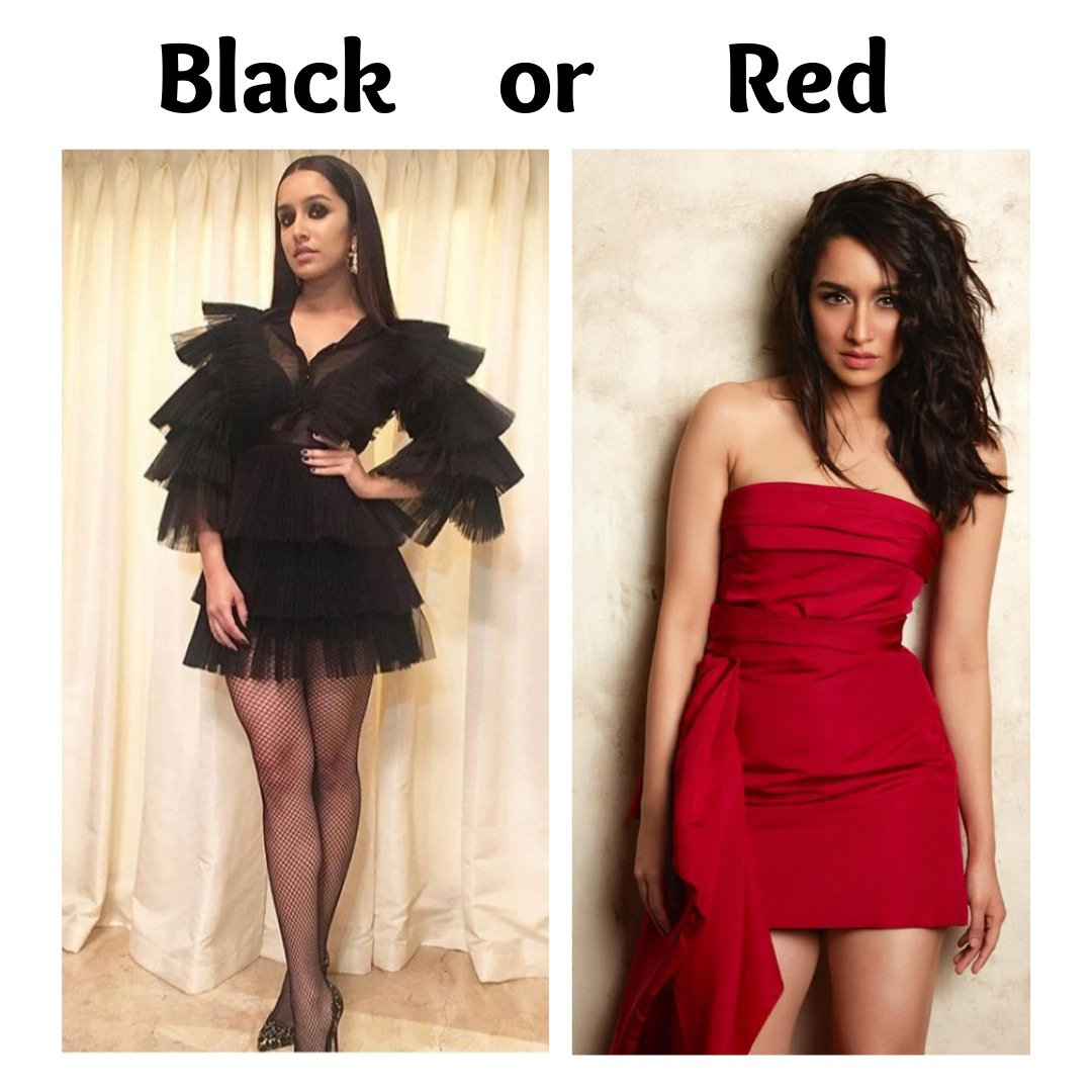 Vote for your favourite in the comments @shraddhakapoor . . . #shraddhakapoor #shraddhagems #looks #style pic.twitter.com/QhqcNT12XP