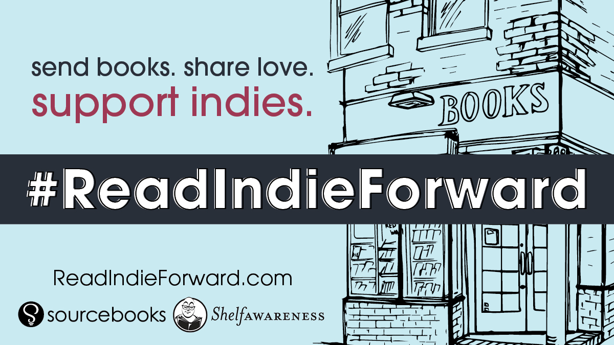 Send books. 📚 Share love. ❤️ Support indies. 😍 ⠀⠀⠀⠀⠀⠀⠀⠀⠀⠀⠀⠀⠀⠀⠀⠀⠀⠀⠀⠀⠀⠀⠀ Send a book hug today when you #ReadIndieForward!  1️⃣Buy a book from an indie bookstore 2️⃣Send it to someone you love 3️⃣Post about it! 4️⃣Encourage them to do the same https://t.co/d1OrPnVg7N