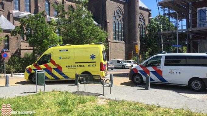 Voetganger onwel bij Poeldijkse kerk https://t.co/tynqMhMlYM https://t.co/0B00xIfhdS