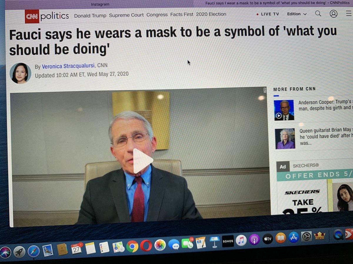 Wear a mask. More Presidential than POTUS. #justdoit