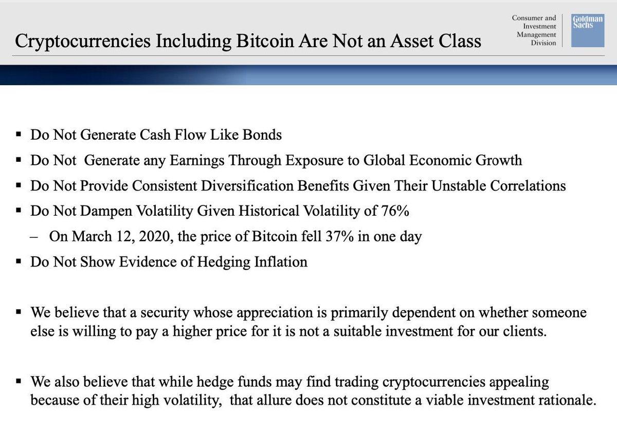 Goldman Sachs Slide