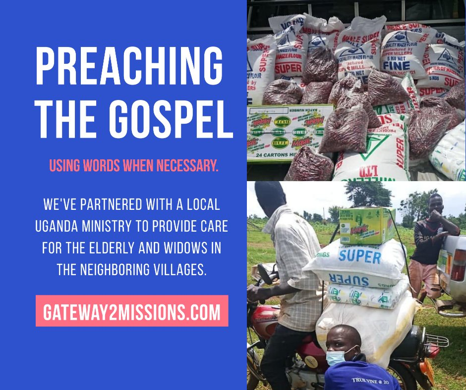 """Our partners are so very valuable to us! When we come together, we discover the power of unity... """"One man can chase a thousand, two...ten thousand."""" (Joshua 23:10) Team work gets things done! Thank you to all who have partnered with Gateway 2 Missions. #charity #missionspic.twitter.com/sxOTe55rUZ"""