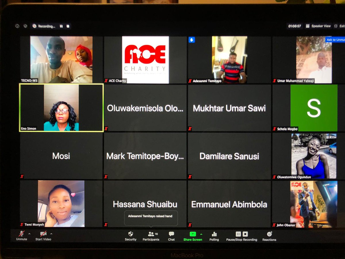 Today's ACE Radio School virtual training for our teachers and translators was a great success! #aceradioschool #acecharity #charityinafricapic.twitter.com/uD1hCBoVzC