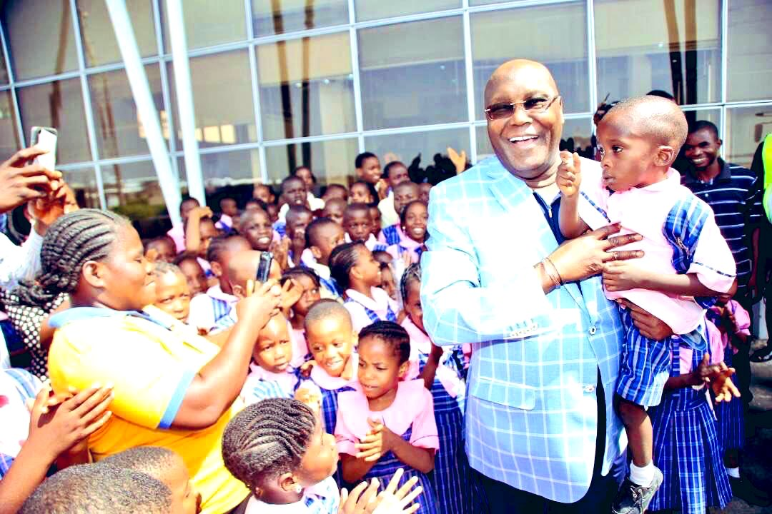 The future would be determined by the impact we create in the lives of our children today. This is why, as a country, we must continue to fine-tune our environment to offer our children the best, particularly in education. #HappyChildrensDay -AA