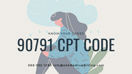 https://bit.ly/3goOPNW   CPT Code 90791: Psychiatric diagnostic evaluation without medical services #medicalbilling #medicalcoding #revenuecyclemanagement #revenuecycle #rcm #providers #claims #claimsmanagement #healthinsurance #billing #mentalhealth #healthcare #psychotherapistpic.twitter.com/EaxpdrvlO7