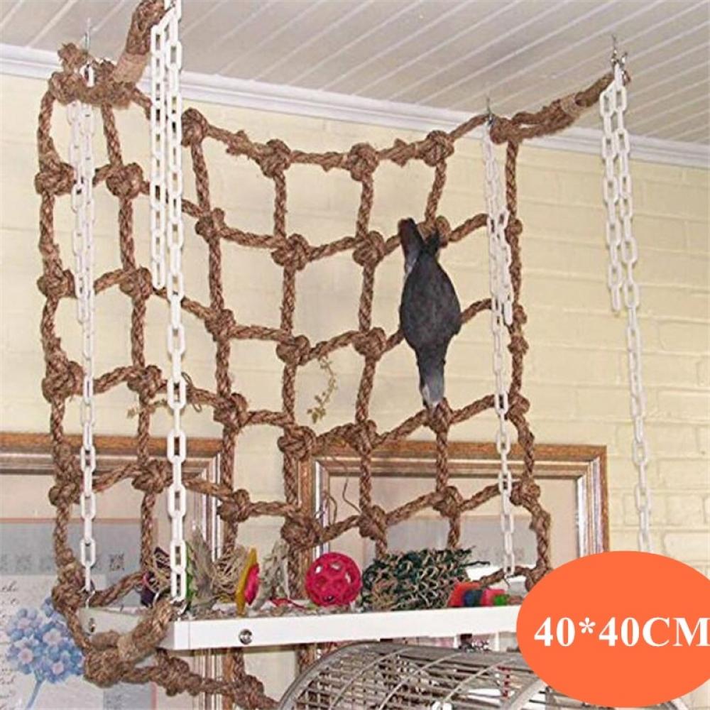 #fashionblog Parrot Climbing Net - Bird Toy Swing Rope With Hook - Bird Hanging/Climbing/Chewing/Biting Toys pic.twitter.com/yDf7BXr7JT