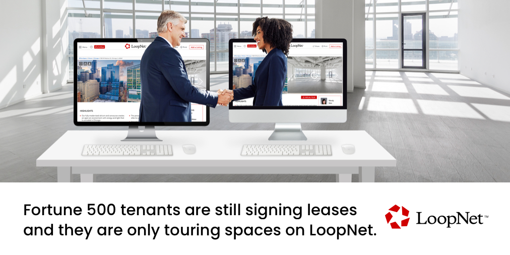 Five million #tenants toured properties on @LoopNet last month.   While in-person tours are no longer possible, tours on #LoopNet have surged 60%. Over 1 million #leases will expire this year and deals have to get done.   Your next tenant is on LoopNet. https://t.co/MhWEp5IZv3 https://t.co/iadI4JXkMx