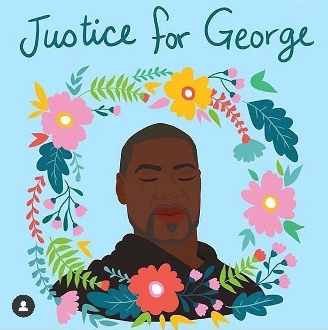 Es macht mich so wütend, es nimmt mich so mit! George Floyd wurde zu Tode gequält. Es tut mir so leid für seine Angehörigen.. Euer verdammter Rassismus tötet! Es reicht! Wut und Trauer.. #GeorgeFloyd #BlackLivesMatter