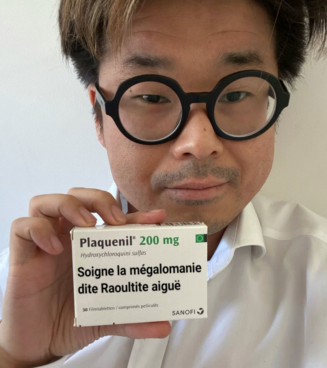 #SonForget #DidierRaoult #COVID__19 #chloroquine #plaquenil Didier #Raoult  https:// twitter.com/sonjoachim/sta tus/1265574820726669313  … <br>http://pic.twitter.com/aG8o3M6Z9L