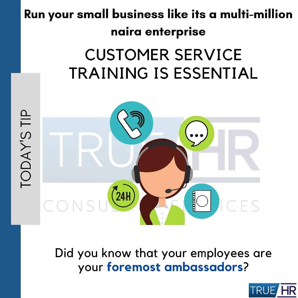 Do you know the correlation between customer's experiences and your bottom line? Employees must know how their behavior affects customers experience and profits. We have customizable #CustomerService training programs to address this. Invest in your employees. It affects profits pic.twitter.com/FjyxYNNgsc
