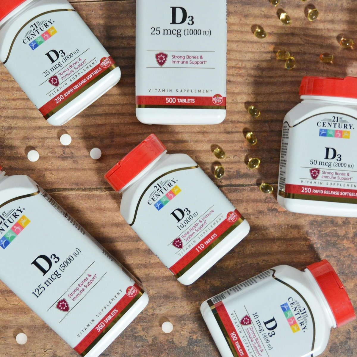 Can't get out of the house because of the lockdown? Take our very own Vitamin D3 daily to replace the missing vitamins from the sunlight!  <br>http://pic.twitter.com/Uy3zpm2G8Z