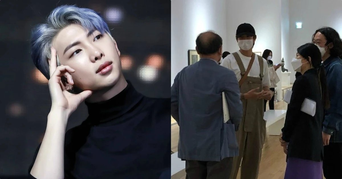 With museums and attractions slowly opening again all around the world, #BTS's #RM shows us how to practice proper #socialdistance at the National Museum of Modern And Contemporary Art in Seoul.  And we are loving it!  pic.twitter.com/qUQfB0SSUi