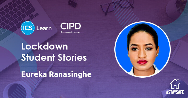 Eureka wanted to do something that would add value to her time during lockdown. Find out more about why she decided to study her CIPD Level 3 Diploma with us online! #icslearn #onlinelearning #cipd #lockdownstudentstories bit.ly/2ZD8ZO3