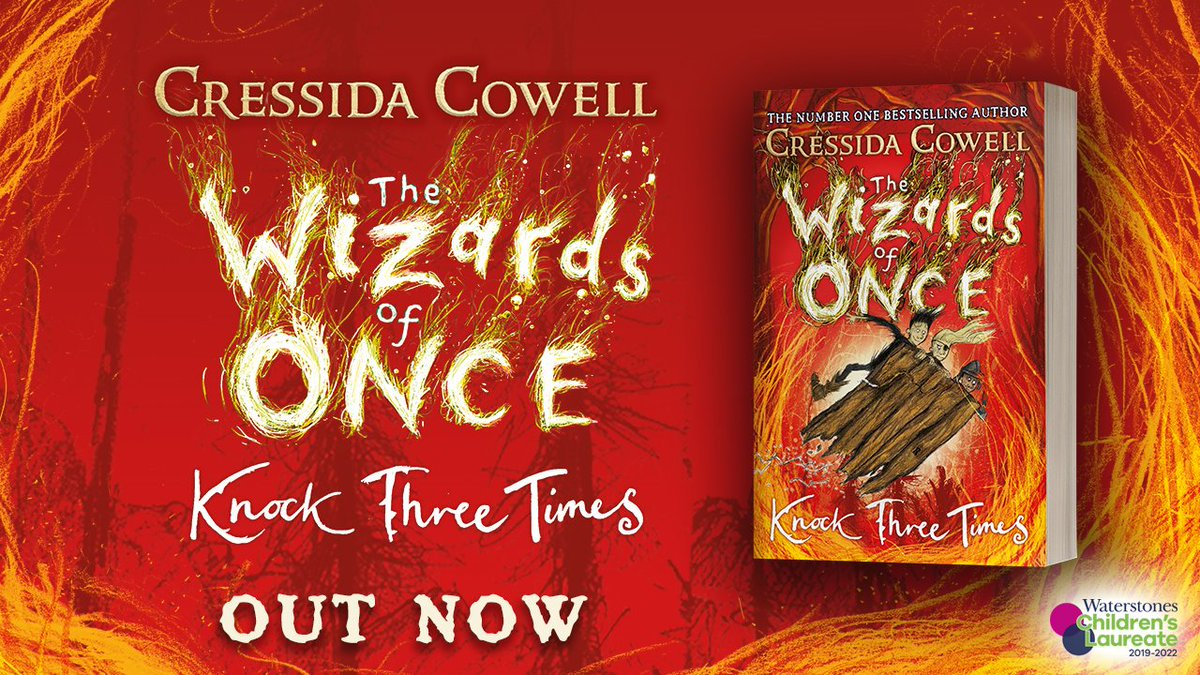 @MrEPrimary @PrimarySchoolBC We have the third instalment of The Wizards of Once series by @CressidaCowell!