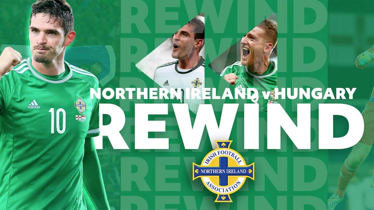 📺 REWIND | Watch NI v Hungary in full tonight ⌚️ 8:15pm ko #LastLaff #GAWA ▶️ bit.ly/2ZakrRh ◀️