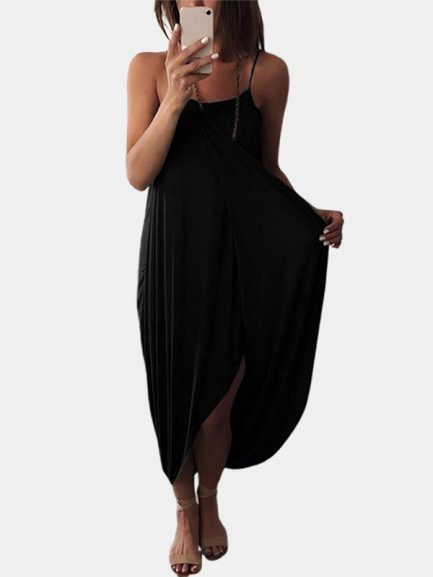 Keep your wardrobe collection hot by adding this Hem Maxi Dress.   Worldwide Free Shipping  Get flat 10% Off on Summer Sale: Apply Coupon Code: summer2020  #SolidColor #Hem #Casual #MaxiDress #DailyCasual #SummerFashion #WeekendCasual #Goodvibes  https://powerdaysale.com/product/solid-color-straps-sleeveless-loose-irregular-hem-casual-maxi-dress/…pic.twitter.com/F5FAnooWkW