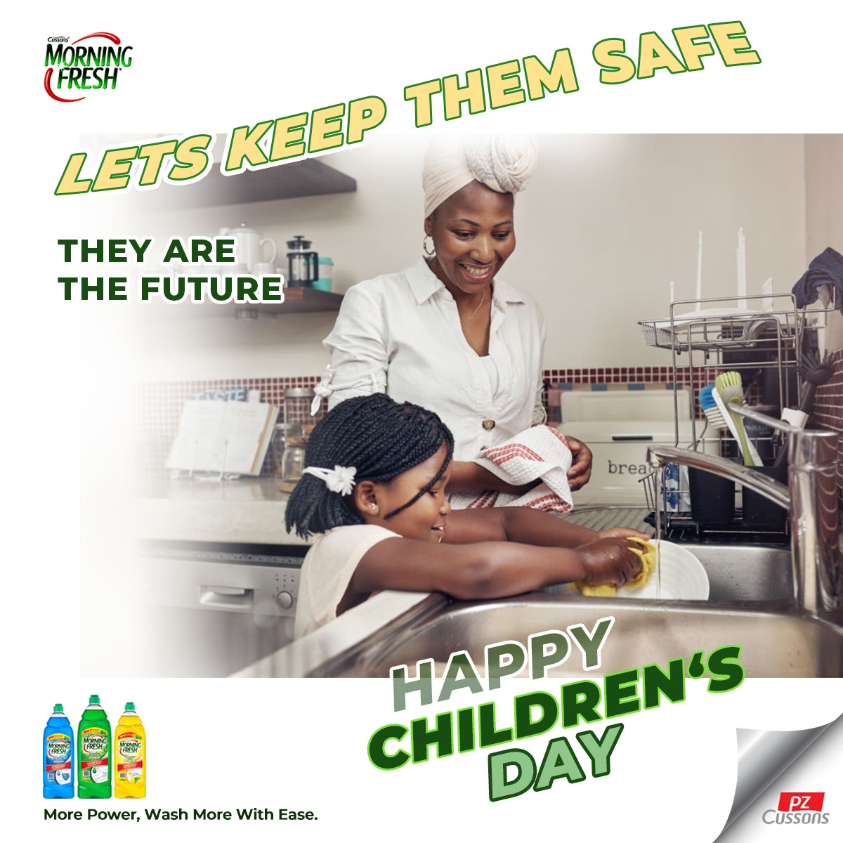 Our kids mean the world to us.  Let's keep them safe and teach them the importance of handwashing and proper hygiene habits, because they are our future Happy Children's Day! #childrensday #happymoments #MorningFresh #dishwashing #squeakyclean #kitchen #socialdistancing #staysafepic.twitter.com/LpR7tKyJ57