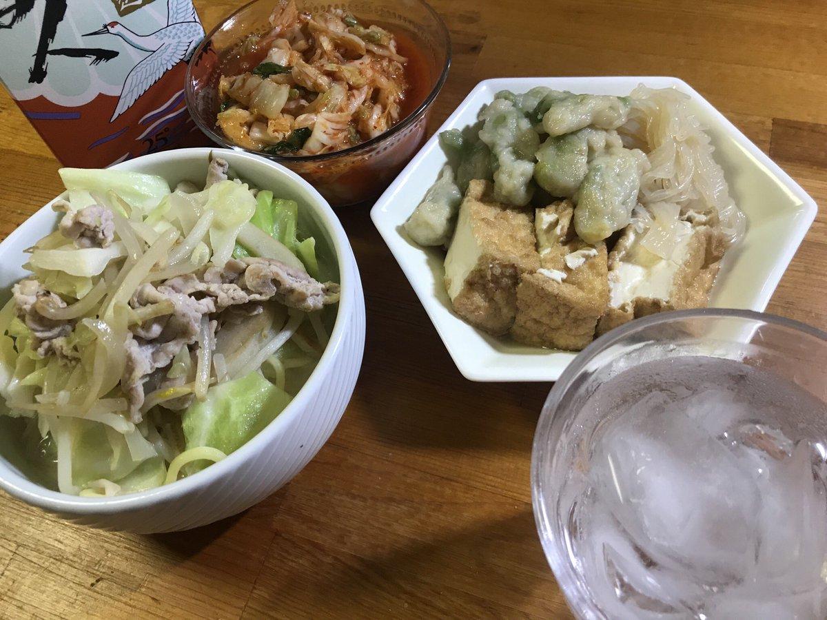 Good evening! Japanese bansyaku style. #japanesefood #japanesestylepic.twitter.com/a3T3orHk9W