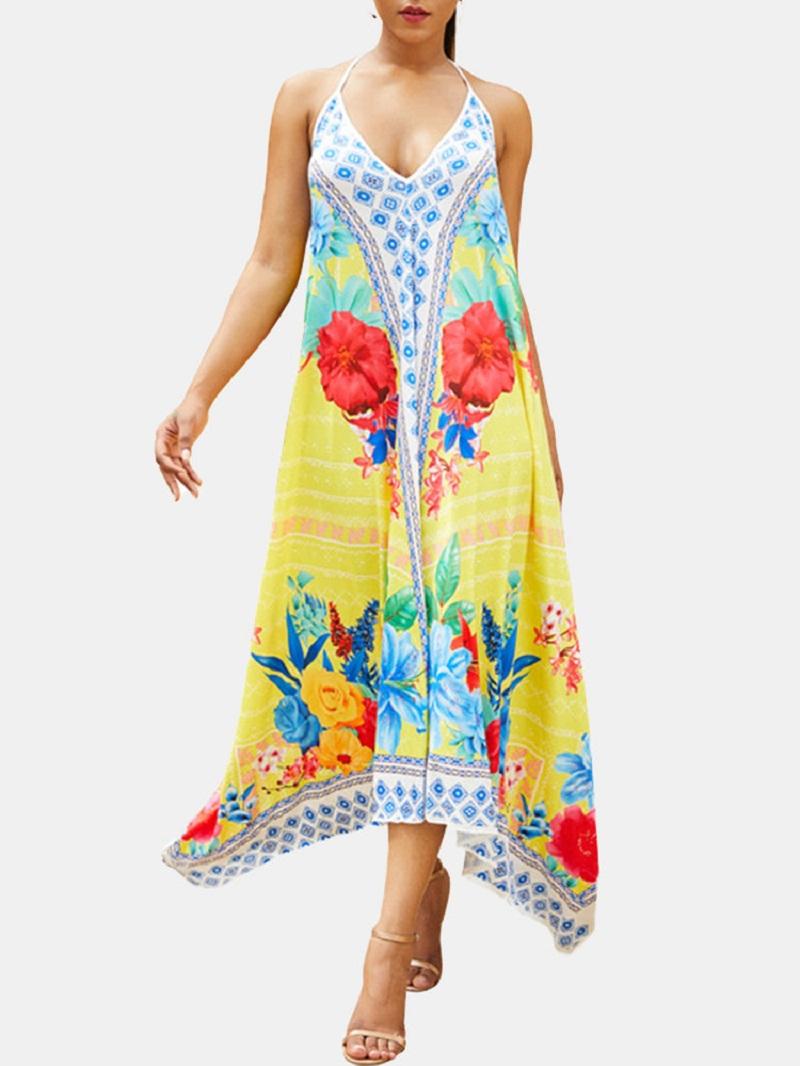 This Maxi dress also lend in Holiyday like Beach dress.   Worldwide Free Shipping  Get 10% off on summer Sale: Apply Coupon code: TDM20  #Bohemian #Beach #MaxiDress #SummerFashion #Anklelength #Goodvibes #ootd  https://tdmercado.com/product/bohemian-beach-v-neck-halter-neck-irregular-maxi-dress/…pic.twitter.com/GPjb01JGse