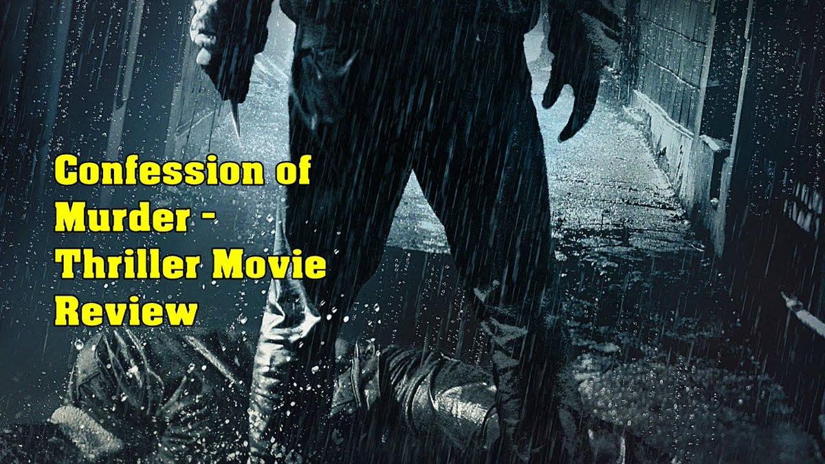 Confession Of Murder - Thriller Movie Review.  #VisualDrops #ConfessionOfMurder #MovieReview #thrillers #movies #WednesdayMotivation #COVID #lockdownpuzzles #Chennai #Tamilnadu #Corona #lockdown   Review Link: https://youtu.be/0qZqxS-2JkUpic.twitter.com/6dxrF6MAq2