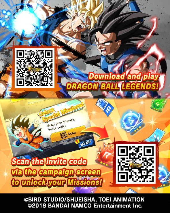 Let's fight together! Download DRAGON BALL LEGENDS! #DBLegends #Dragonball #DBLegends2ndAnniv  For you New playerspic.twitter.com/MlC3vDKjH5