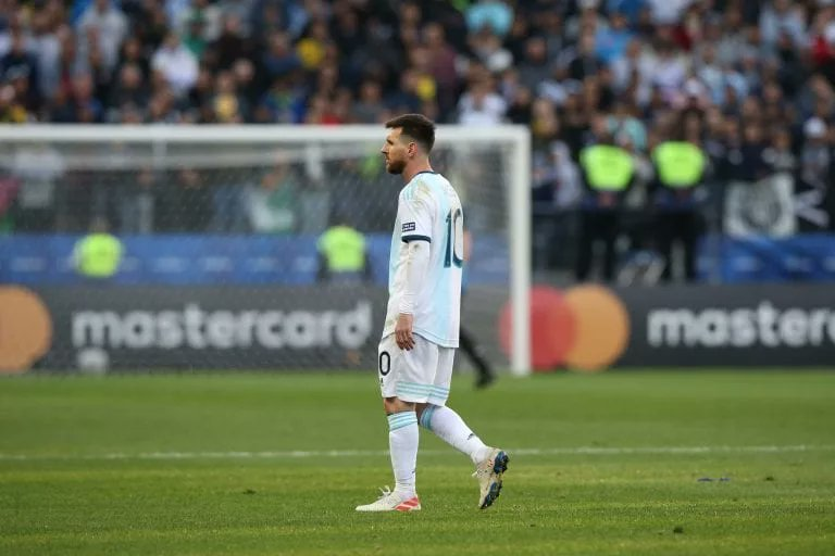 """— Lionel Messi: """"The Copa was going to be a big occasion for me this year, and I was extremely excited to compete in it again. It hit me hard when I learned it would be postponed, but I completely understood."""" <br>http://pic.twitter.com/aDNsaz5NCA"""