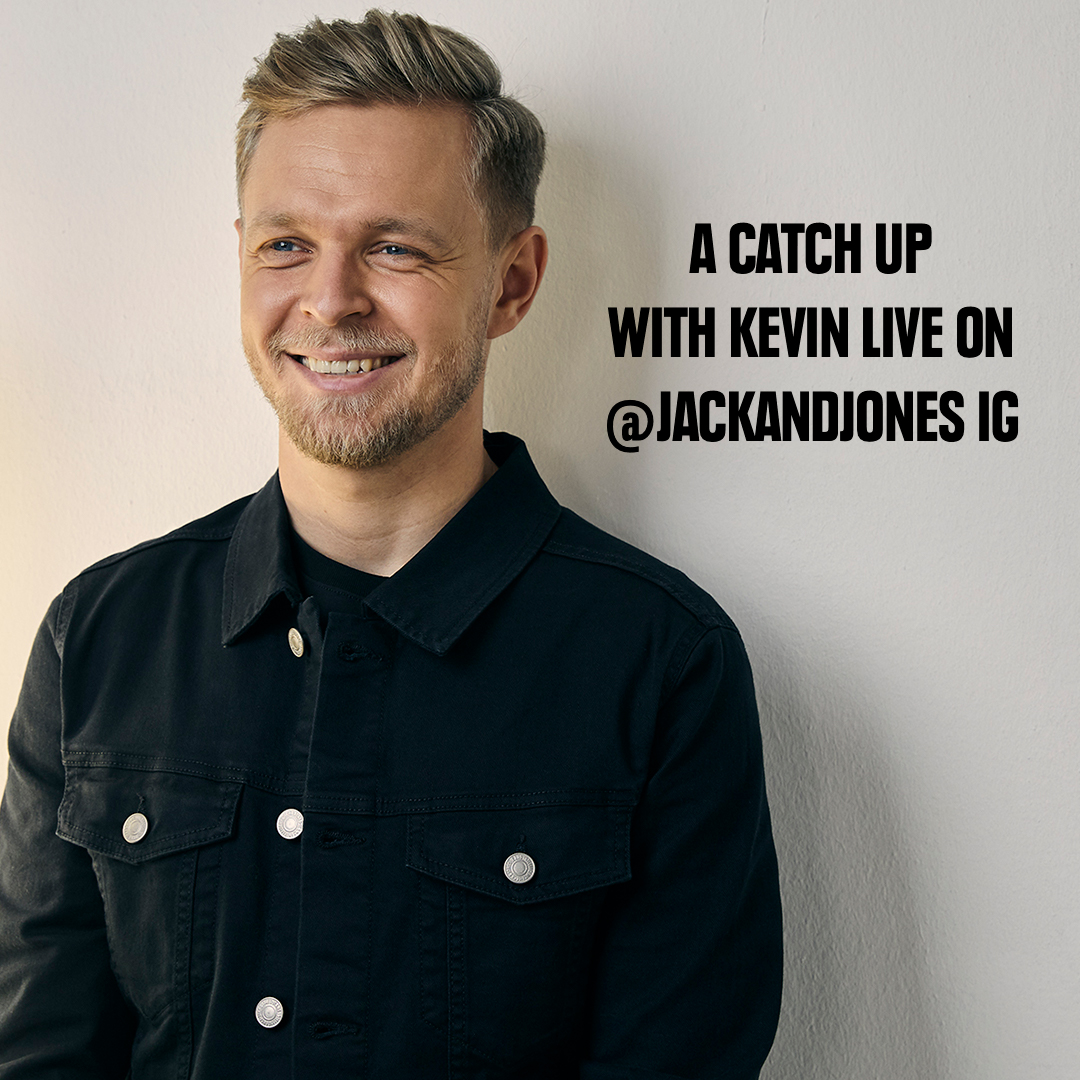 Join us tomorrow at 11am CEST on Instagram where we'll be catching up with our good friend @KevinMagnussen on what he's been up to over the past while and his preparations for the 2020 season when it finally gets underway 🏎️ #jackandjones  🔴 https://t.co/MHqse6KHUP https://t.co/ttnXwtvb5q