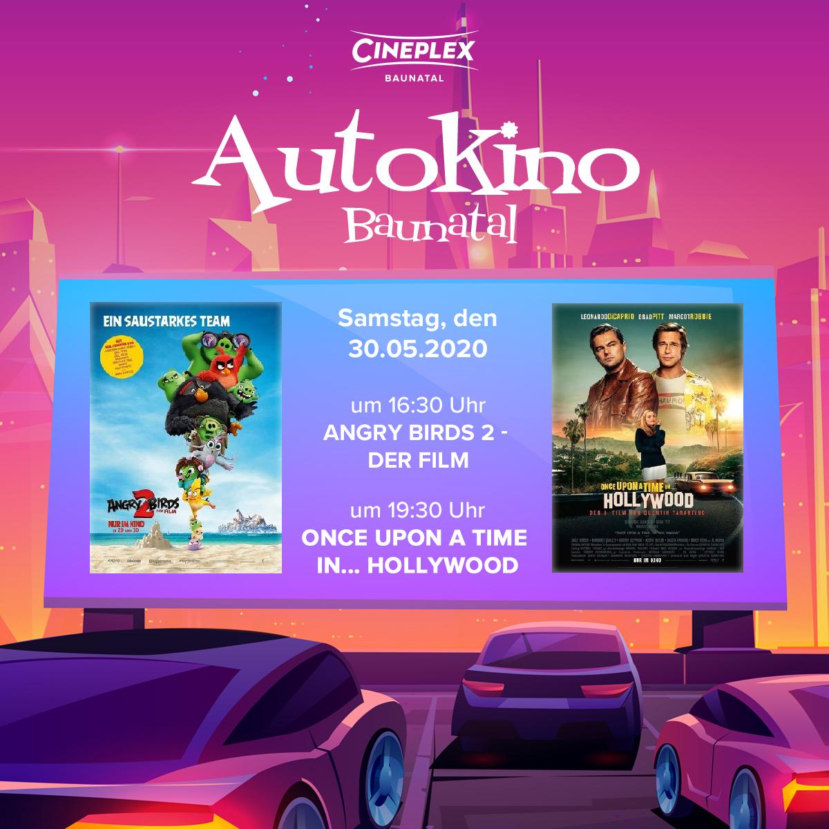 Die letzte Woche für das Autokino Baunatal steht an!   Zumindest vorerst. Denn wir wiedereröffnen unser Kino ab dem 4.6. & werden somit am 3.6. unsere letzte Autokino-Vorstellung zeigen.   ..wir werden im Hochsommer mit einem Mix aus Open Air- und Autokino zurück kommen! pic.twitter.com/UWgmdkwv6l