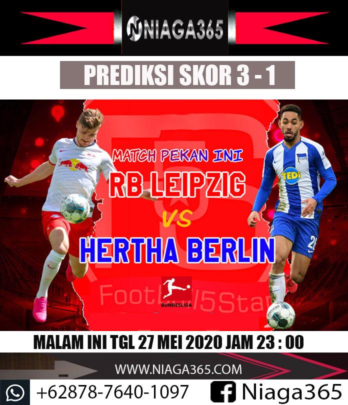PERTANDINGAN MALAM INI...  GERMANY Bundesliga  RB Leipzig VS Hertha Berlin  ww.niaga365. com  WA : +62878-7640-1097  #agenbolaterpercaya #agenbolano1indonesia #agenjudibola #agenjudionline #agenjuditerbaik #isinpoker #aoscash #hasilligaitalia #hasilligainggris #gadisindonesiapic.twitter.com/5OiGR7ZAJe